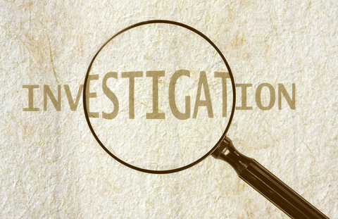 investigations and magnifying glass